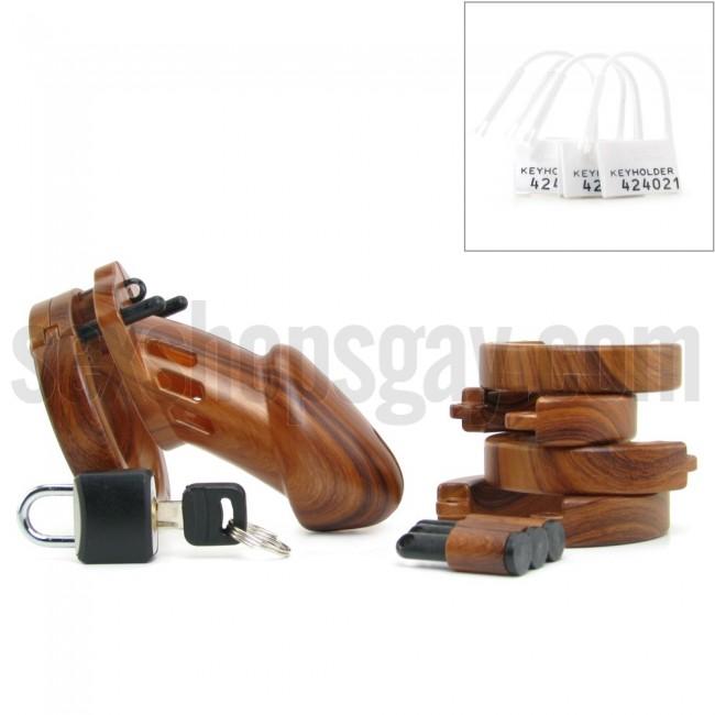 Cinturon de Castidad Madera